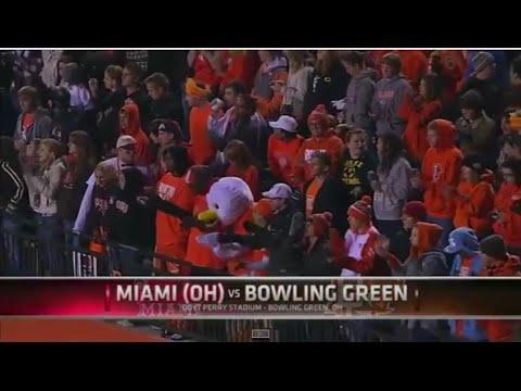 NCAAF: Miami (Ohio) at Bowling Green - November 10, 2010