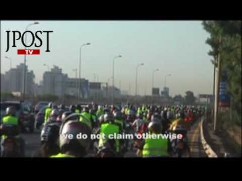 Jpost Video: Motorcyclists