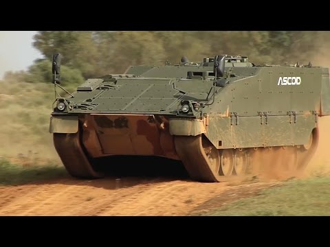 General Dynamics European Land Systems - ASCORD 2 Infantry Fighting Vehicle Field Testing [1080p]