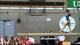 Regio Finale Turnen 3e divisie 2012 met Allyson