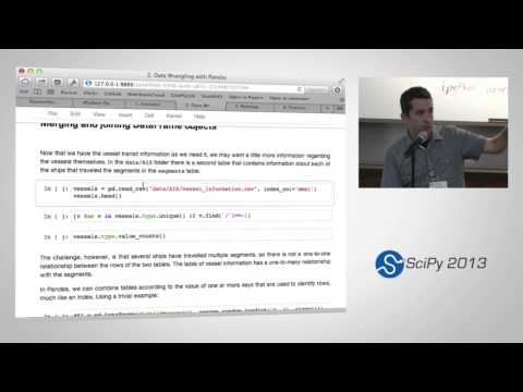 Statistical Data Analysis in Python, SciPy2013 Tutorial, Part 2 of 4