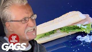Mejores Bromas - Sandwich de caca de pájaro