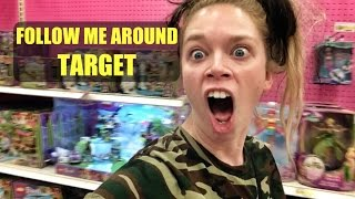 FOLLOW ME AROUND TARGET- SWIMSUIT ADVENTURE
