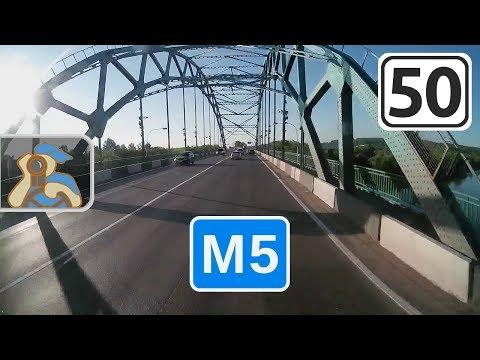 Трасса М5 на Челябинск. ✕ МКАД - обход Бронниц - ✕ А108 (МБк)