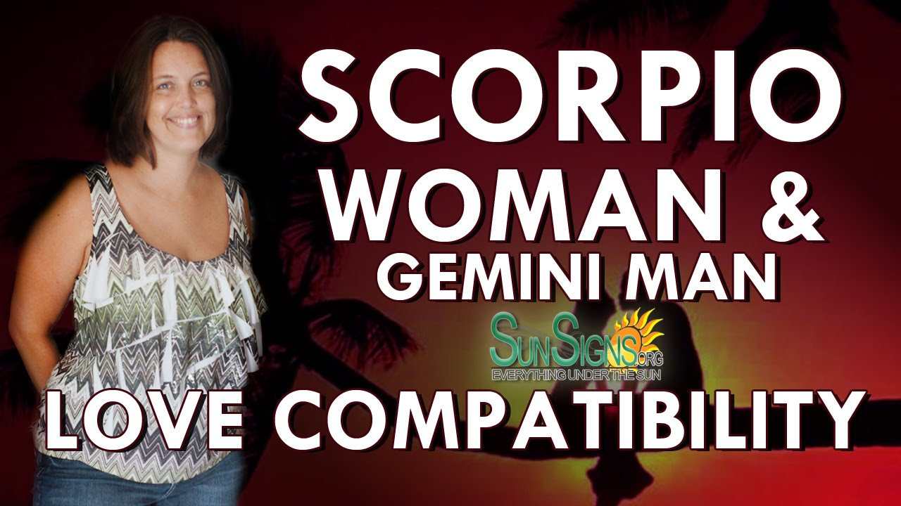 Gemini Man And Scorpio Woman In Love