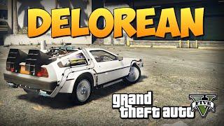 GTA 5 Mods : Delorean - МАШИНА БУДУЩЕГО