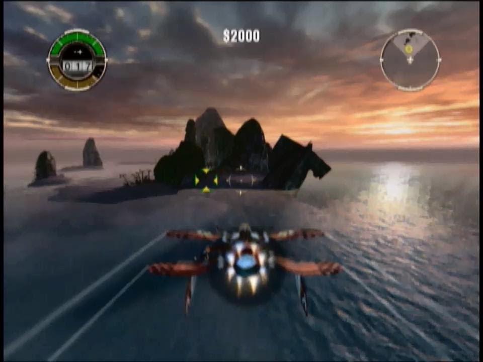 Crimson Skies: High Road to Revenge (Xbox) - Gameplay 1 - YouTube