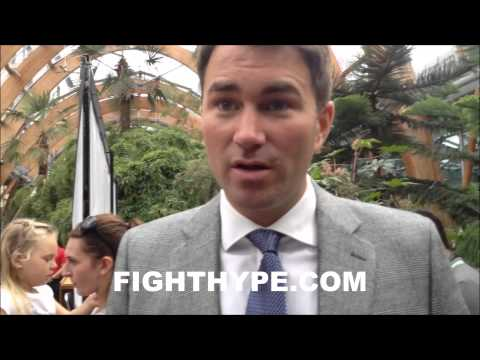 EDDIE HEARN EXPLAINS WHY KELL BROOK IS SPECIAL AND DESERVES A SHOT AT MAYWEATHER IN 2015