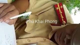 CSGT Tam Dương, Vĩnh Phúc, kiểm tra bảo hiểm xe, nói có chuyên đề, đi làm không biên lai xử phạt