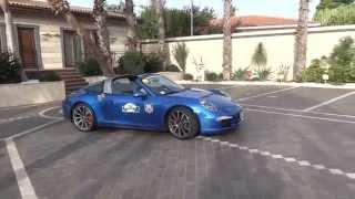 Raid dell'Etna Porsche Tribute, con la 911 Targa 4S alla scoperta della Sicilia