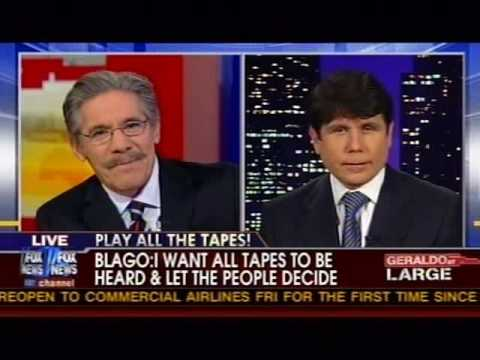 Rod Blagojevich on Geraldo Rivera - Blago on  Celebrity Apprentice 