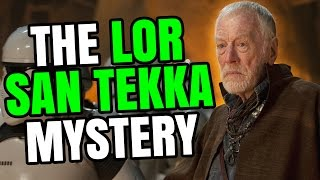Star Wars 101 | Who is Lor San Tekka? - Jon Solo