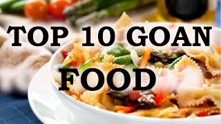TOP 10 POPULAR FOOD OF GOA