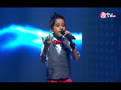 Vishwaprasad Ganagi - Neele Neele Ambar Par - Liveshows - Episode 20 - The Voice India Kids