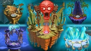 Plants vs Zombies 2 - New Zomboss Podiums Changed