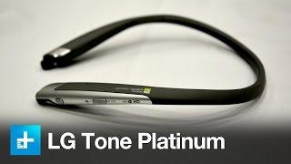 LG Tone Platinum Bluetooth Headphones - Hands On