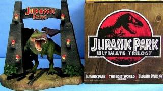 Jurassic Park Ultimate Trilogy Blu-ray BOXSET Limited Edition unboxing review GIFT SET