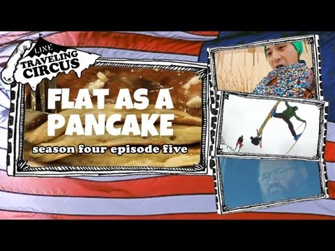LINE Traveling Circus 4.5 Flat As A Pancake