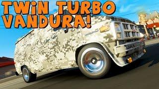 Forza 5   Twin Turbo GMC Vandura   Drift Build
