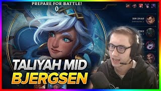 684. Bjergsen Taliyah vs Lulu Mid - Patch 8.11 - NA Challenger