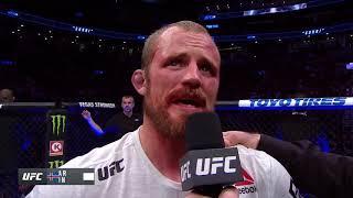 UFC 231: Gunnar Nelson Octagon Interview