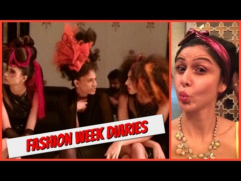Backstage To The Front Row || Lakme Salon Hair Show || Lakme Fashion Week