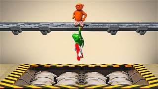 GREATEST WAY to TRAP FRIENDS! - Gang Beasts