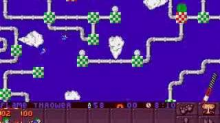 Lemmings 2 (PC) sports lvl 1: 58 saved