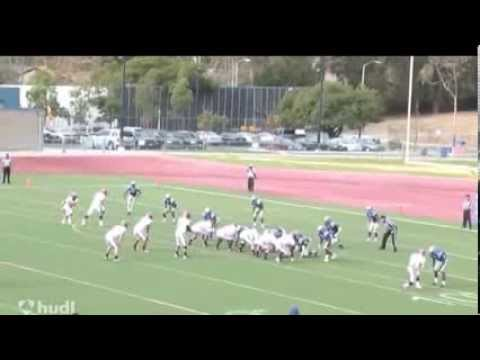 Giovanni Sanders WR #85 2013 Football Highlights Santa Barbara City College