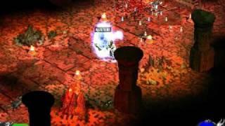 暗黑破壞神2 99聖騎 打地獄巴爾.....