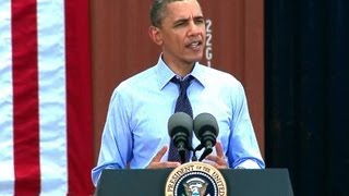 President Obama Speaks on Trade and the Economy