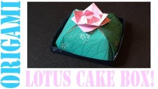Origami Daily - 416: Lotus Flower Cake (re - Upload) - Tcgames [hd]