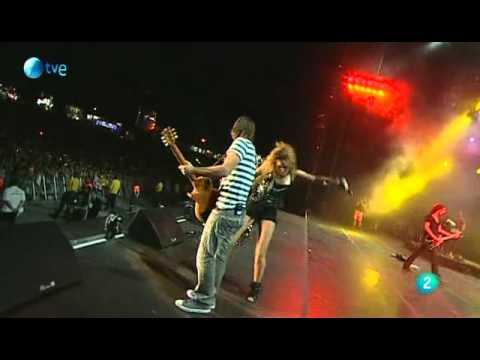 Miley Cyrus I love Rock N' Roll/ Cherry Bomb & Bad Reputation @Rock In Rio (Madrid Live 2010)