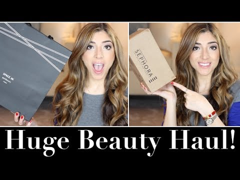 Huge Beauty Haul! Sephora, Space NK & MAC!