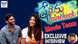 Premaku Raincheck Movie Team Exclusive Interview | Abhilash Vadada | Priya Vadlamani | Myra Media