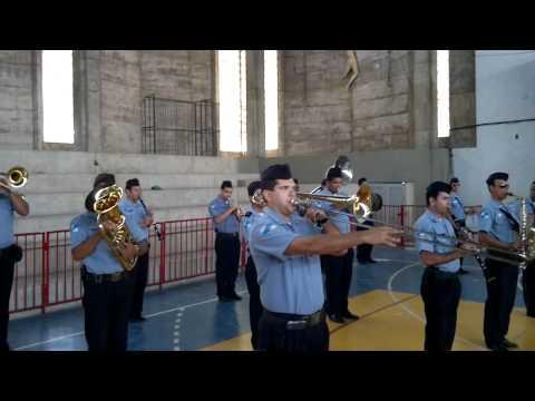 Banda da PM de Campos na Abertura dos Jogos da Independência