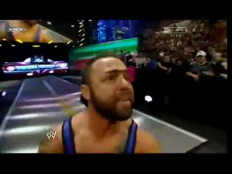 Santino Marella at royal rumble 2009