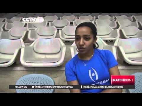 b 2131 sport CCTV Afrique Egypt producing squash stars