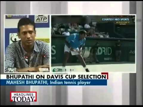 I am available for Davis Cup: Mahesh Bhupathi