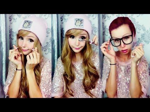 Я БЕЗ МАКИЯЖА | Viral Asian Makeup Transformation