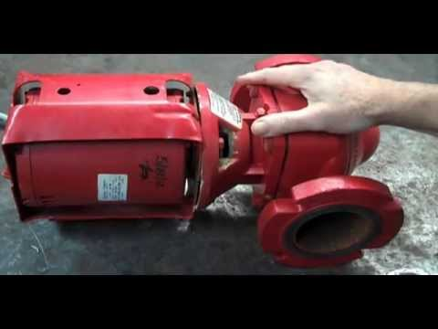 Pump repair Circulator Seal Change fix leak Bearing Assembly Coupler replace how to