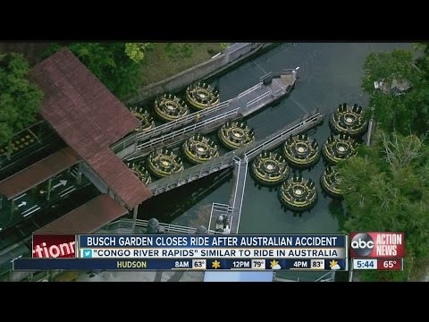 Busch Gardens closes ride after Australian accident