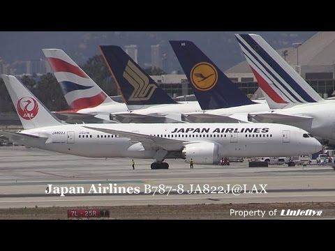 Japan Airlines B787-8 Ja822J@LAX