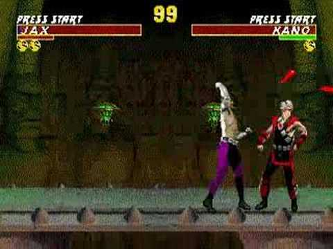 Mortal Kombat - Finishing Moves