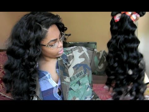 Aliexpress H&J Virgin Peruvian hair (initial review)