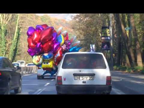 Uçan Balonlu Araba
