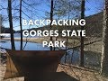 Backpacking Gorges State Park - Brevard, NC