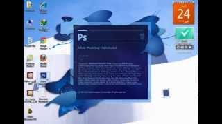 How to Change Photoshop CS6 language to Arabic tutorial