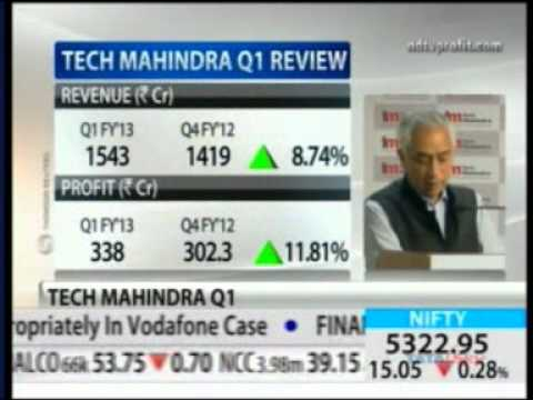Tech Mahindra Q1 FY'13 Results -- Mr. Vineet Nayyar -- NDTV Profit
