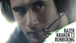Razer Kraken 7.1 rUnboxing | Virtual 7.1 Surround Sound USB Gaming Headset